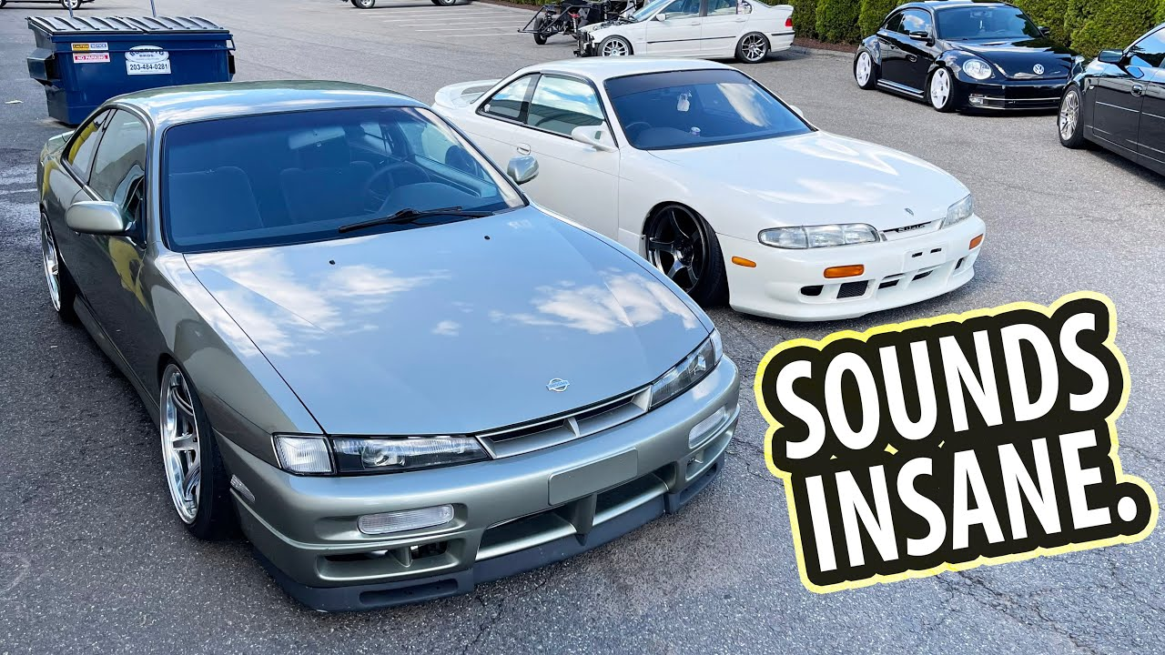 Honda K series Swapped 240SX FIRST TEST DRIVE!!