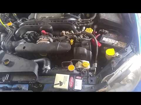 08-12 WRX spark plug and coil pack change