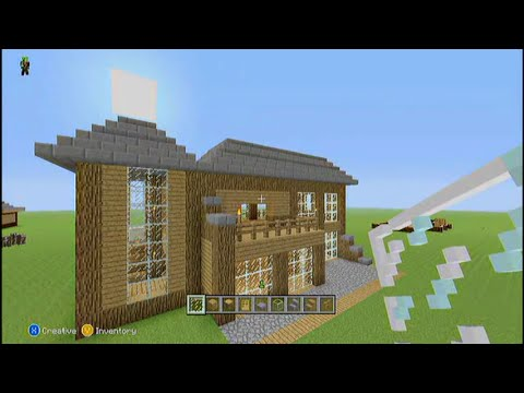 easy minecraft two story house tutorial