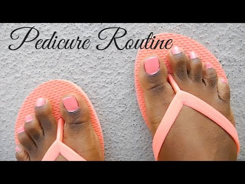 My At Home DIY Pedicure Routine