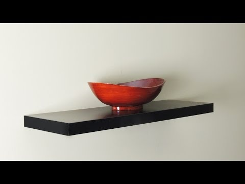 How to Hang a Floating Wall Shelf