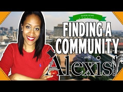 Finding a Community with Alexis George