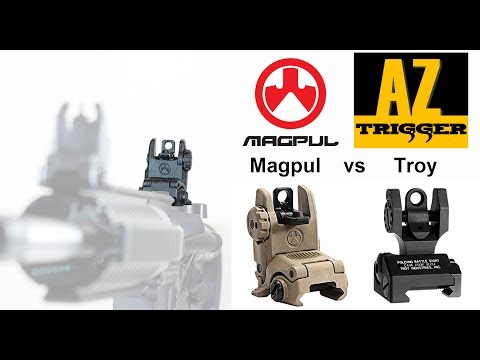 Magpul MBUS Rear Sight Review (for AR-15's)