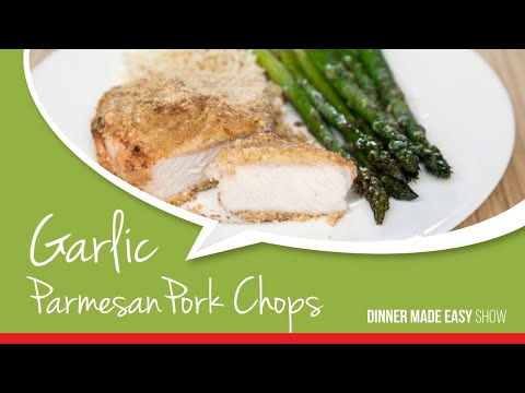 Garlic Parmesan Pork Chops ~ Dinner Made Easy