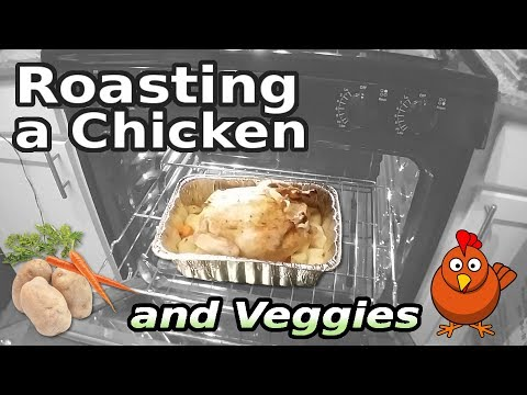 Roasting a Chicken and Veggies