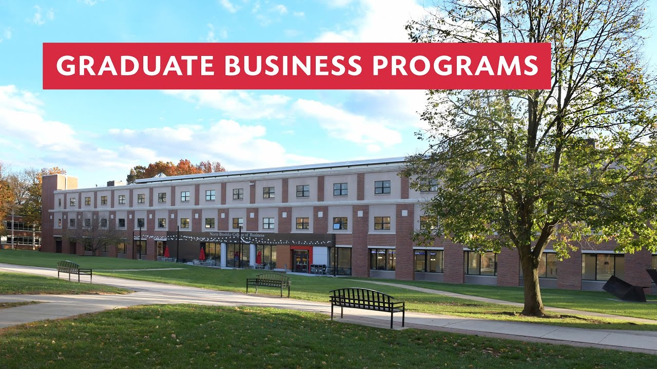 Rider Graduate Business Programs Overview