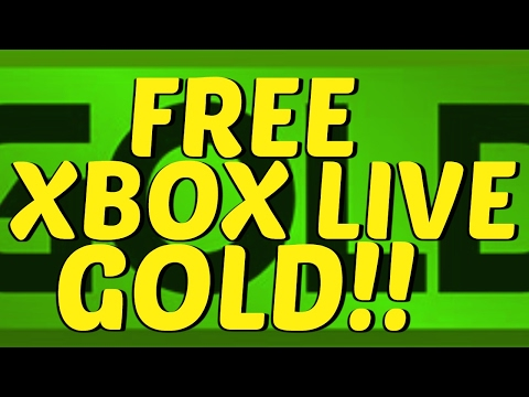 HOW TO GET FREE XBOX LIVE GOLD!! (Working 2017)