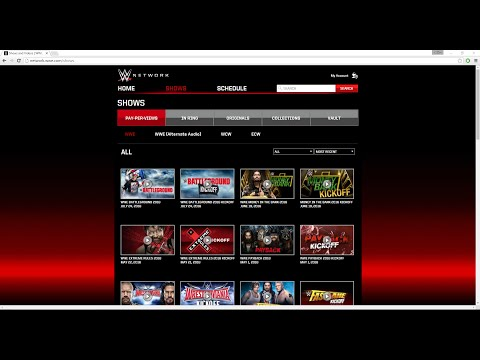 How to Redeem a WWE Network Gift Card