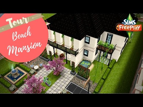 Beach Mansion Tour | Sims FreePlay