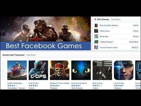 Best Facebook Games - 2017 (Top 50+)