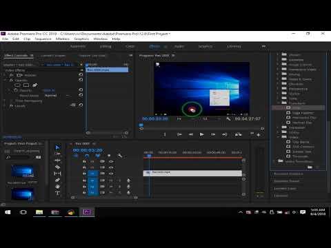 Mengedit Video Sederhana Dengan Adobe Premiere Pro 2018