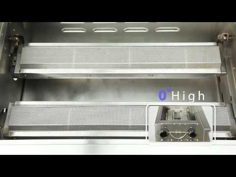 STARLIGHT Adjustable Infrared BBQ Grill  English Version