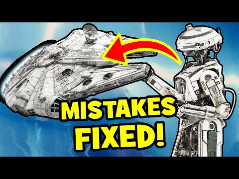 5 Star Wars MOVIE MISTAKES FIXED by Solo A Star Wars Story