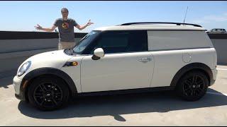 Here's Why the Mini Clubvan Is One of the Rarest, Weirdest Modern Cars