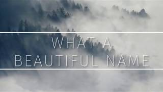 What A Beautiful Name - Hillsong Click Track Lyric Video