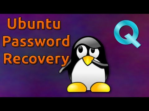 Ubuntu Password Recovery