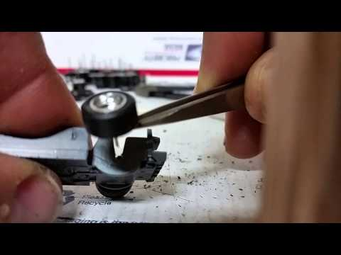 How to make axles for hot wheels wheel swaps