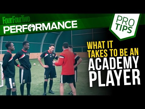 What it takes to be an academy player | Pro soccer tips