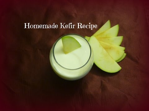 Homemade Kefir Recipe