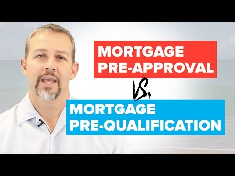 Mortgage Pre-Approval vs. Mortgage Pre-Qualification