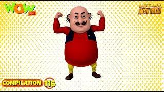 Motu Patlu - Non stop 3 episodes   3D Animation for kids - #116