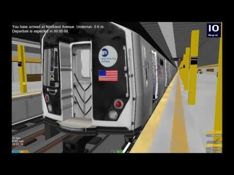 OpenBVE HD: How I Think The NYC Subway R211 Will Turn Out (R153