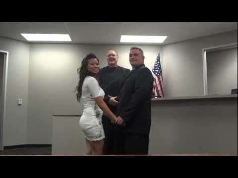 Brandon And Cockey Got Married