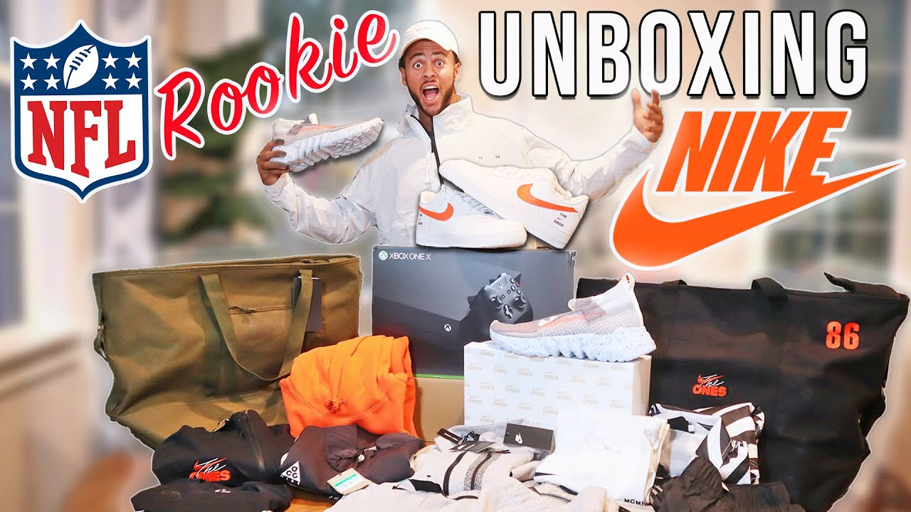NIKE UNBOXING - NFL ROOKIE CARE PACKAGE
