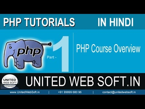 PHP Tutorials in Hindi, Learn PHP, Mysql with project based training
