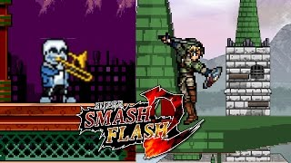 Super Smash Flash 2 Mod | Mettaton Stage