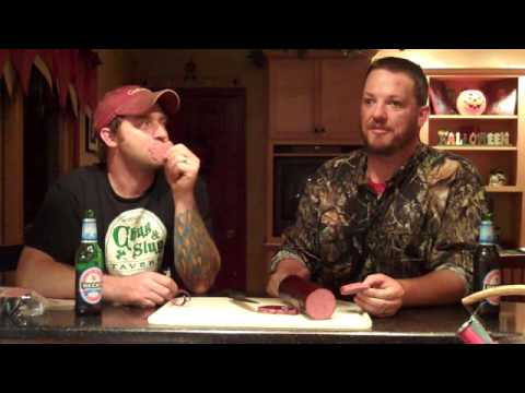 How to make Venison Summer Sausage with Garlic and Peppercorns