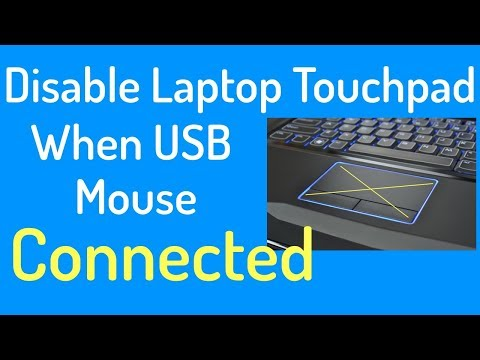Disable Touchpad When USB Mouse Is Connected | PCGUIDE4U