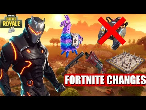 FORTNITE NEW BIG CHANGES + JETPACK IS BEING REMOVED! (FORTNITE BIG UPDATE)