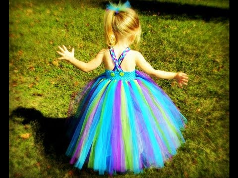 How to Put Straps on Tutu Dresses