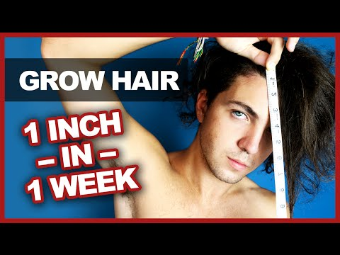 Grow Your Hair 1 Inch in 1 Week - Myth Bust