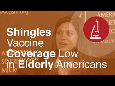 Shingles Vaccine Coverage Low in Elderly Americans - ICAAC 2013