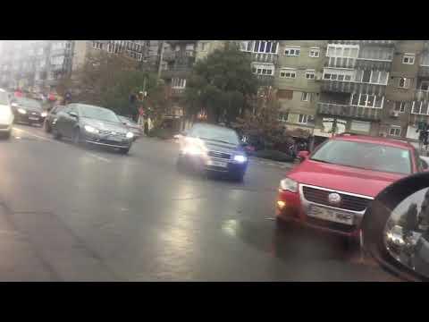 Accident VW intersectie Nufarul, Oradea