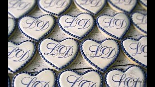How To Make Monogram Cookies By Emma S Sweets