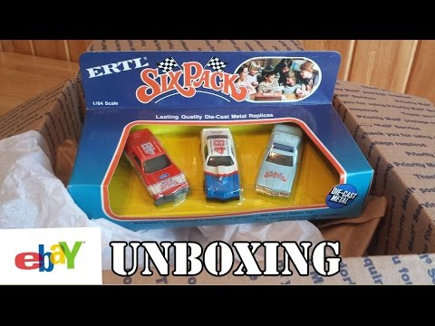 eBay Unboxing - 1982 Ertl 1/64 Six Pack Diecast Movie Cars