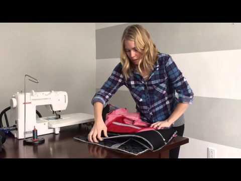 Cargo Duffle Lining tutorial