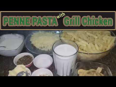 PANNE PASTA Recipe with Grill Chicken | Pakistani Kitchen