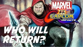 Top 10 Marvel and Capcom Characters Most Likely To Return In Marvel Vs Capcom: Infinite