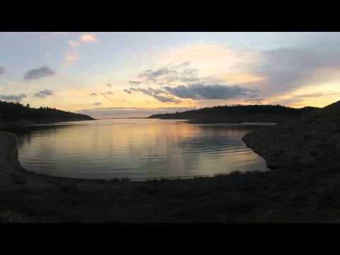 Folsom Lake Clouds at Sunset   Time Lapse  GOPRO