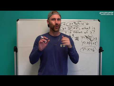 Y in Terms of X | Problem of the Day #91