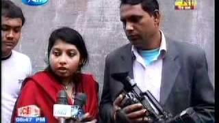 MP of Bangladesh harrasing a tv reporter
