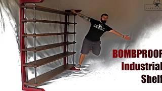 Bombproof Industrial shelf | DIY