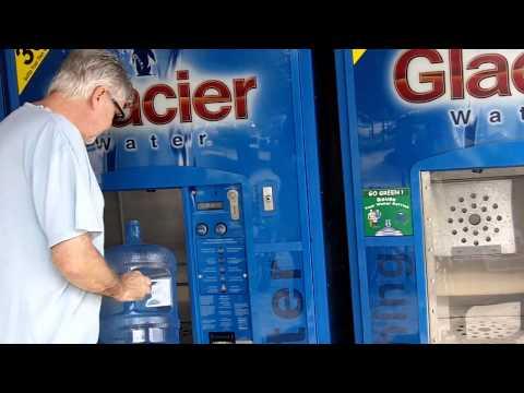Glacier water machines at Publix