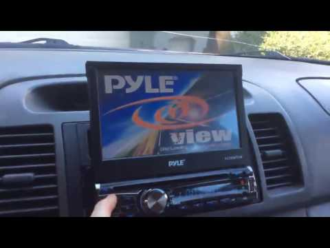 Pyle 7 Single Din Tochscreen Bluetooth Headunit Flip Out Receiver & Backup Camera Kit Review