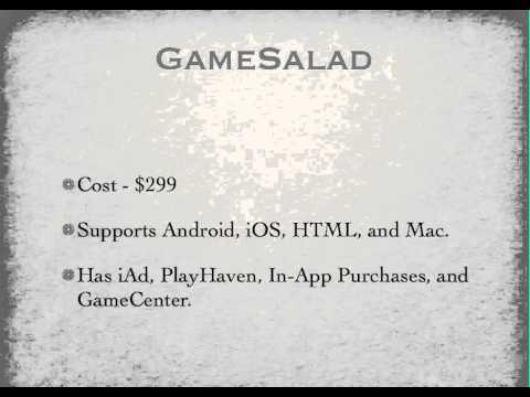 Why Use GameSalad To Make iPhone Games