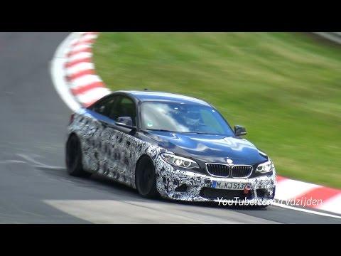 2016 BMW M2 F87 Testing Again on the Nurburgring